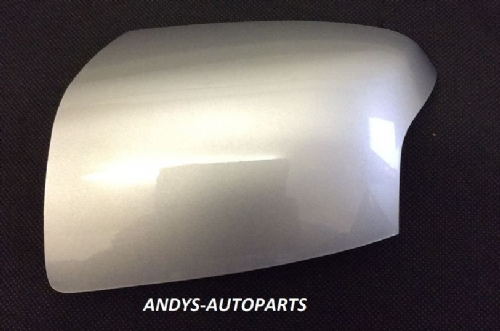 FORD FOCUS 05-08 WING MIRROR COVER LH OR RH SIDE IN MOONDUST SILVER